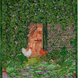 Chickens Guarding My Secret Garden