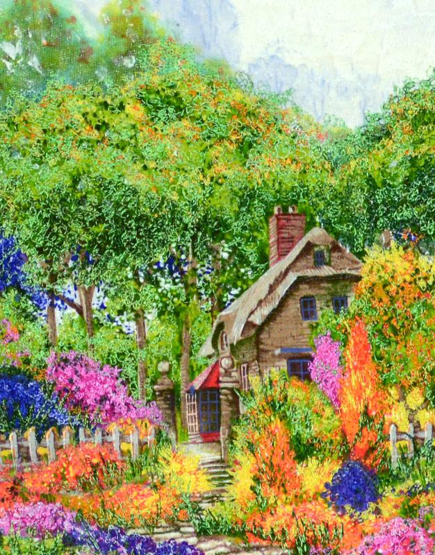 joyce r becker landscape quilts english garden