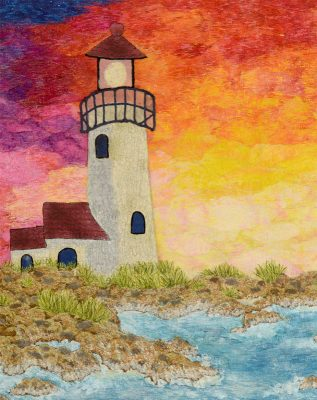 lighthouse seascape quilt